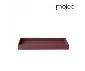 Mojoo Lacktablett rechteckig  medium grape