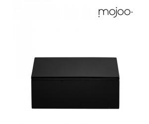 Mojoo Lackbox mit Deckel quadratisch small black