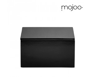 Mojoo Lackbox mit Deckel quadratisch medium black