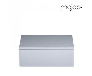 Mojoo Lackbox mit Deckel quadratisch small cool grey