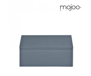Mojoo Lackbox mit Deckel quadratisch small antracit
