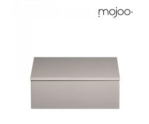 Mojoo Lackbox mit Deckel quadratisch small fawn