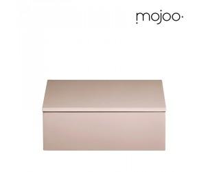 Mojoo Lackbox mit Deckel quadratisch small powder rose