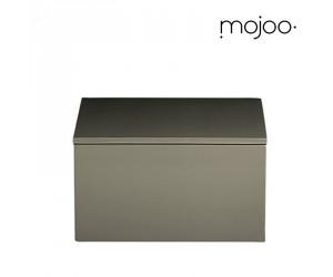 Mojoo Lackbox mit Deckel quadratisch medium steeple grey