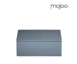 Mojoo Lackbox mit Deckel quadratisch small dusty blue
