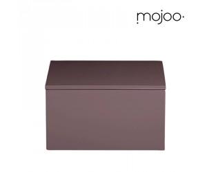 Mojoo Lackbox mit Deckel quadratisch medium grape