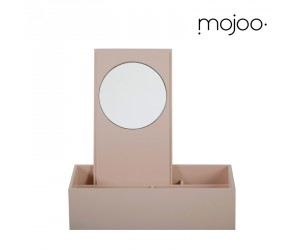 Mojoo Makeup-Lackbox powder rose