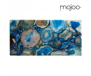 Mojoo Agate-Tafel medium blue