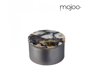 Mojoo Agate-Box rund small black