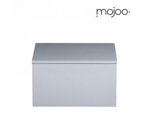 Mojoo Lackbox mit Deckel quadratisch medium cool grey
