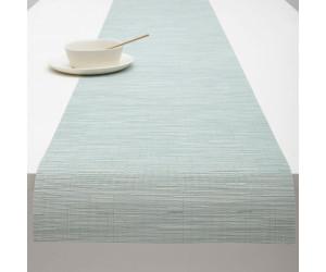 Chilewich Tischläufer Bamboo graublau -031 (38x183 cm)