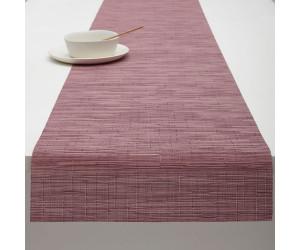 Chilewich Tischläufer Bamboo rhabarber -032 (36x183 cm)