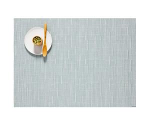 Chilewich Tischset Bamboo rechteckig graublau -031 (36x48 cm)