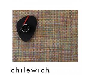 Chilewich Set Rechteckig Basketweave crayon