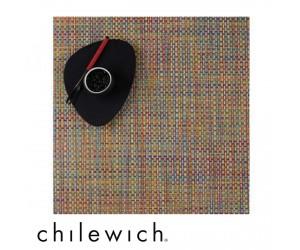 Chilewich Set Quadratisch Basketweave crayon