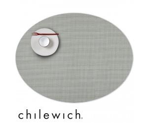 Chilewich Set Oval Mini Basketweave aloe