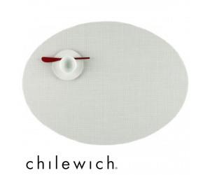 Chilewich Set Oval Mini Basketweave sandstone