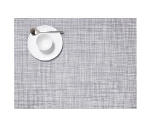 Chilewich Tischset Mini Basketweave rechteckig hellgrau -034 (36x48 cm)