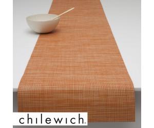 Chilewich Läufer Mini Basketweave clementine