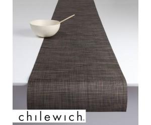 Chilewich Läufer Mini Basketweave dunkel walnuss