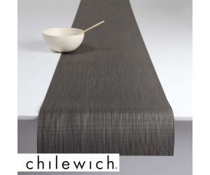 Chilewich Läufer Mini Basketweave light grey