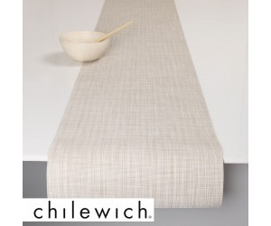Chilewich Läufer Mini Basketweave parchment