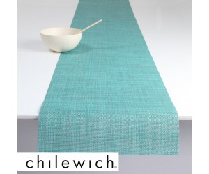 Chilewich Läufer Mini Basketweave turquoise