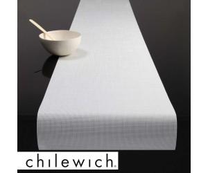 Chilewich Läufer Mini Basketweave weiß