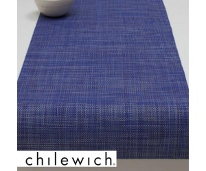 Chilewich Läufer Mini Basketweave blueberry