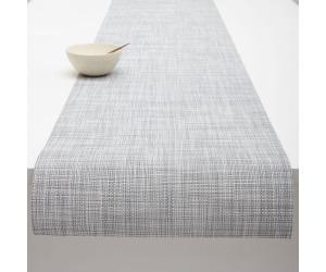 Chilewich Tischläufer Mini Basketweave hellgrau -034 (33x178 cm)