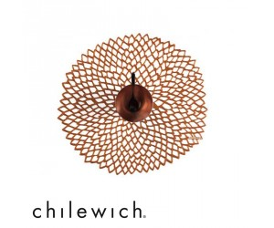 Chilewich Tischset Dahlia rose gold