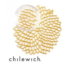 Chilewich Untersetzer Dahlia gold (6er Set)