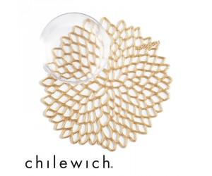 Chilewich Untersetzer Dahlia brass (6er Set)