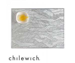 Chilewich Tischset Drift silber