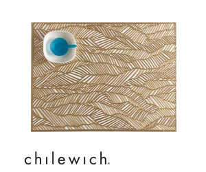 Chilewich Tischset Drift brass