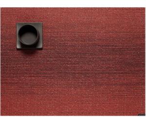 Chilewich - Tischset OMBRE rechteckig 36 x 48 cm - Ruby