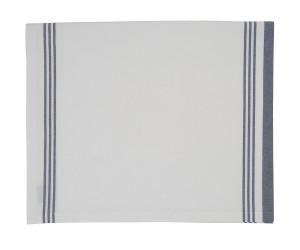 Lexington gestreifte Tischdecke Hotel Striped Tablecloth weiß/blau (150x250 cm)