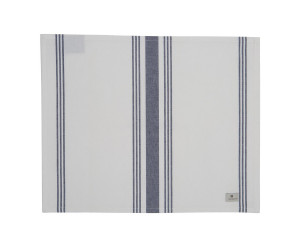 Lexington gestreiftes Platzset Hotel Striped Placement weiß/blau (50 x 40 cm)