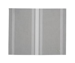 Lexington gestreiftes Platzset Hotel Striped Placement grau/weiß (50x40 cm)