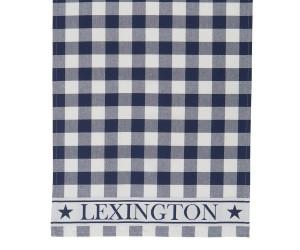 Lexington karriertes Küchentuch Hotel Gingham Kitchen Towel weiß/blau (50 x 70 cm)