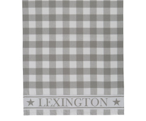 Lexington karriertes Küchentuch Hotel Gingham Kitchen Towel weiß/grau (50 x 70 cm)