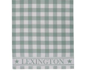 Lexington karriertes Küchentuch Hotel Gingham Kitchen Towel weiß grün (50 x 70 cm)