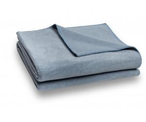 Zoeppritz Decke Soft-Fleece taubenblau -545 (2 Größen)