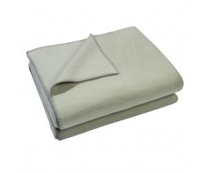 Zoeppritz Decke Soft-Fleece grüngrau -620 (2 Größen)
