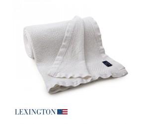 Lexington Bettüberwurf Structured weiß (160 x 240 cm)