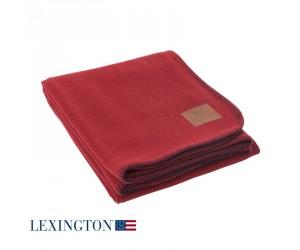 Lexington Bettüberwurf Luxury blue/red