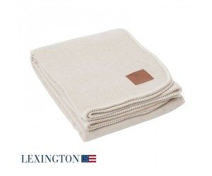 Lexington Bettüberwurf Luxury beige/off white