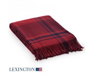 Lexington Decke Wool Classic Checked red multi