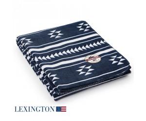 Lexington Decke Fleece Holiday blue