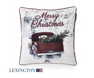Lexington Dekokissen Photoprint Car Sham white multi